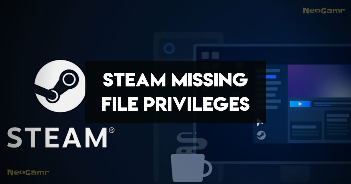 Steam Missing File Privileges