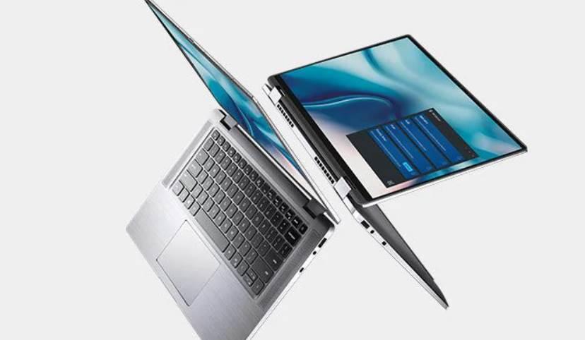 CGI Image of Dell Laptop
