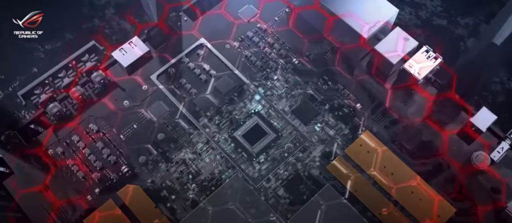 CGI Image of ROG Rapture GT-AC5300 CPU