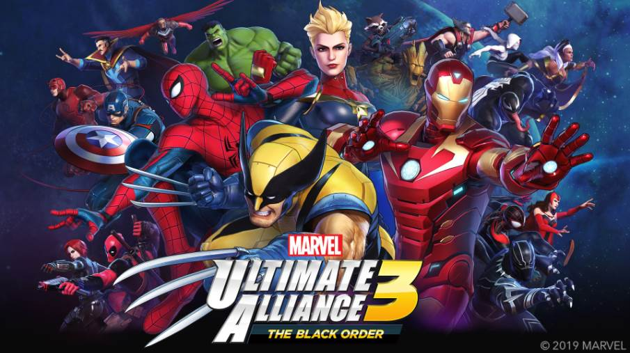 Cover Image of Marvel Ultimate Alliance 3 The Black Order