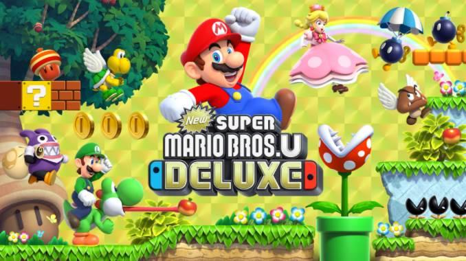 Cover Image of New Super Mario Bros U Deluxe