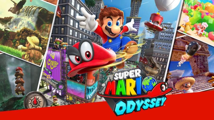 Cover Image of Super Mario Odyssey