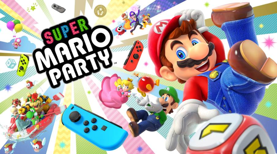 Cover Image of Super Mario Party