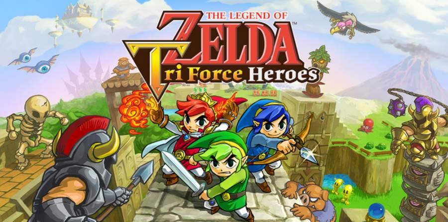 Cover art The Legend of Zelda Tri Force Heroes