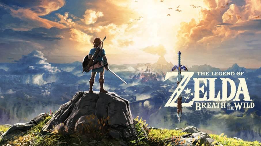 Cover art of Legend of Zelda Breath of The Wild