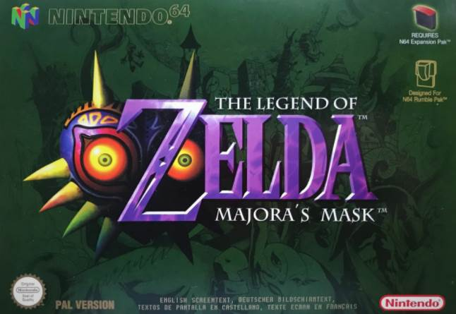 Cover art of Original The Legend of Zelda Majora's Mask