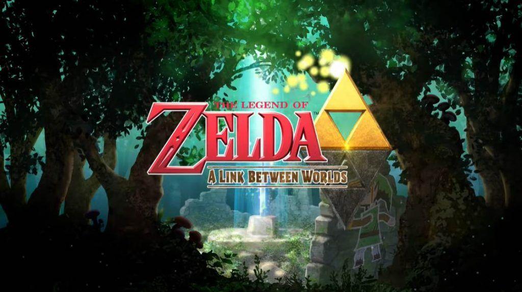Cover art of The Legend of Zelda A Link Between Worlds