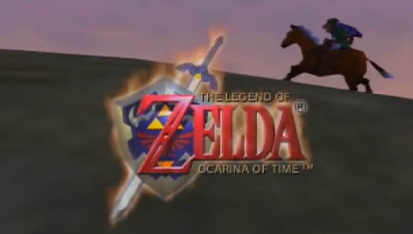 Cover art of The Legend of Zelda Ocarina of Time