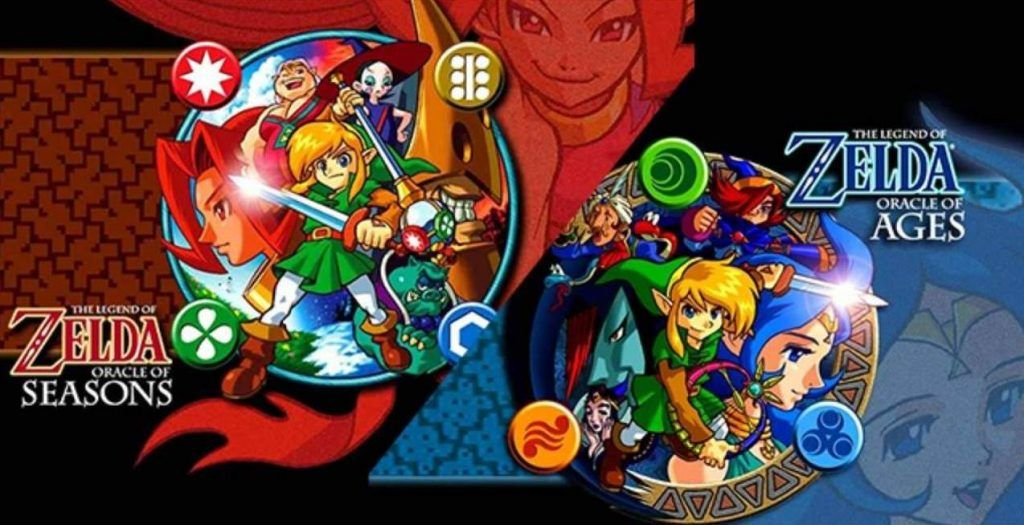 Cover art of The Legend of Zelda Oracle of Seasons and Oracle of Ages