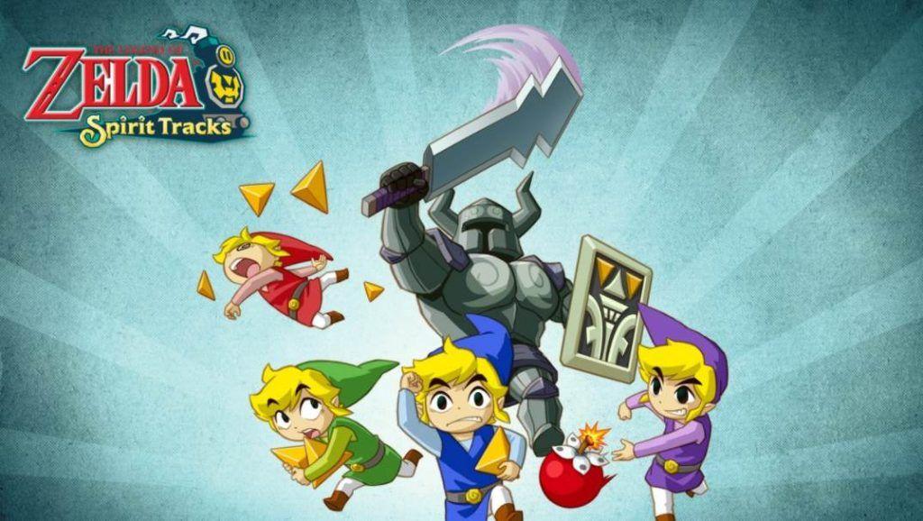 Cover art of The Legend of Zelda Spirit Tracks