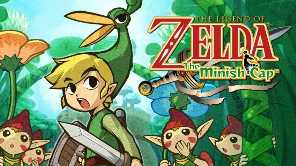 Cover art of The Legend of Zelda The Minish Cap