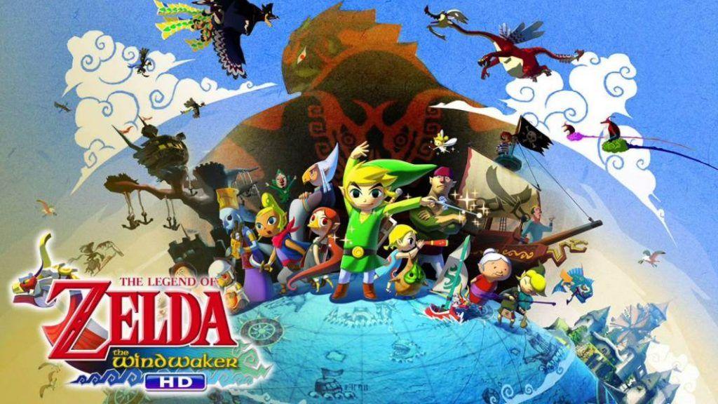 Cover art of The Legend of Zelda The Wind Waker