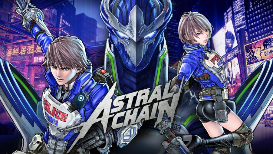Cover image of Astral Chain