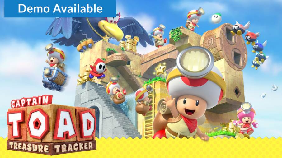 Cover image of Captain Toad Treasure Tracker