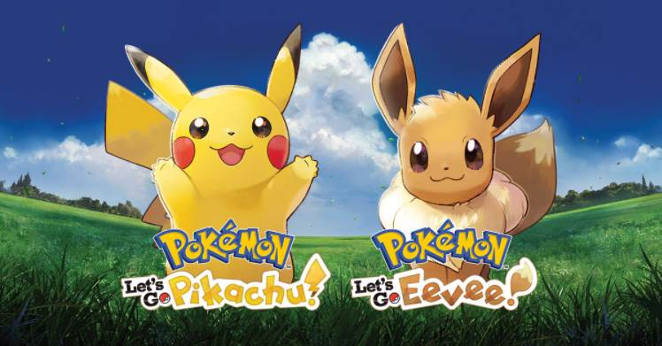 Cover image of Pokemon Let's Go Eevee and Pikachu