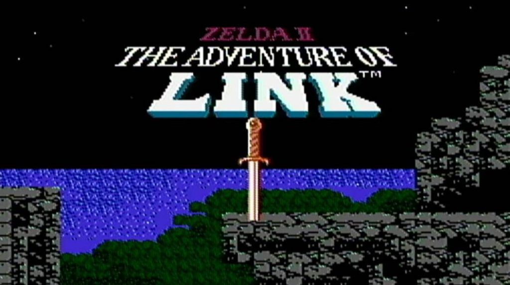 Cover of The Legend of Zelda 2