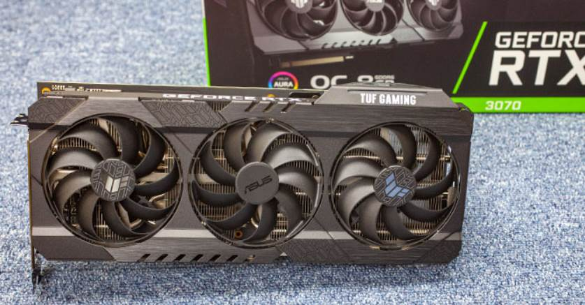 Image of ASUS TUF RTX 3070 With Box