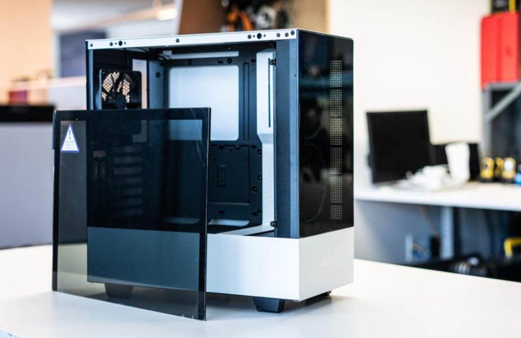 Image of a White Small ATX PC Case