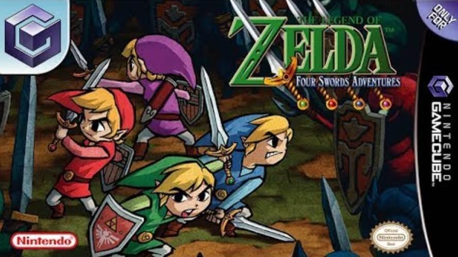 cover art of The Legend of Zelda Four Swords Adventure