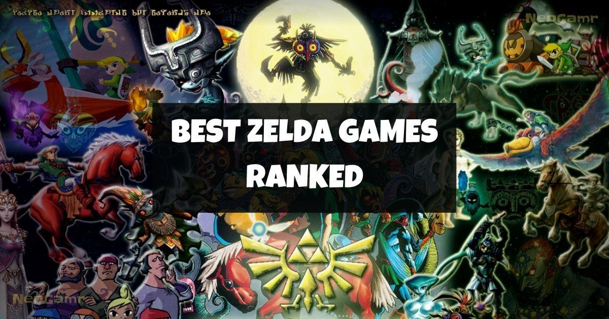 Best Zelda Games