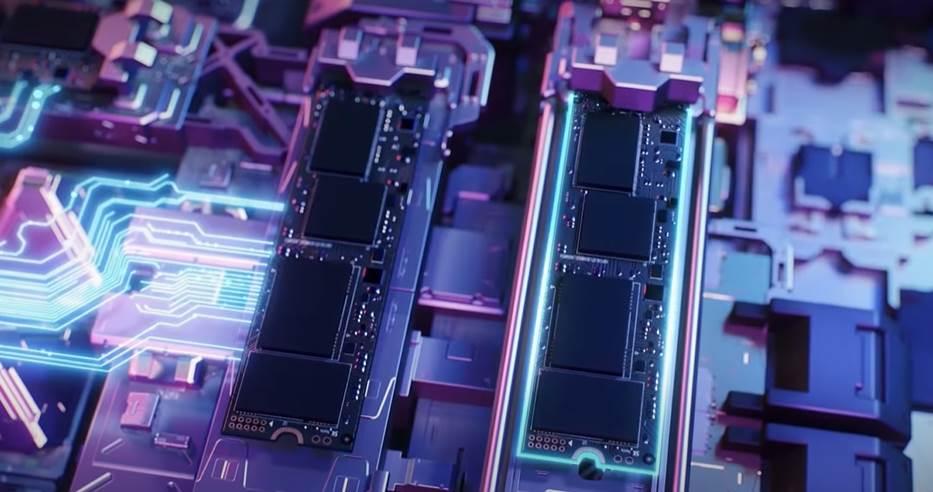 CGI of Nvme inside Asus ROG Strix 15