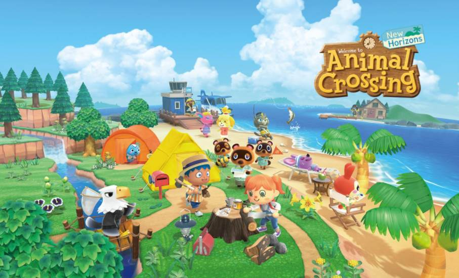 Image of Animal Crossing New Horizons Cover