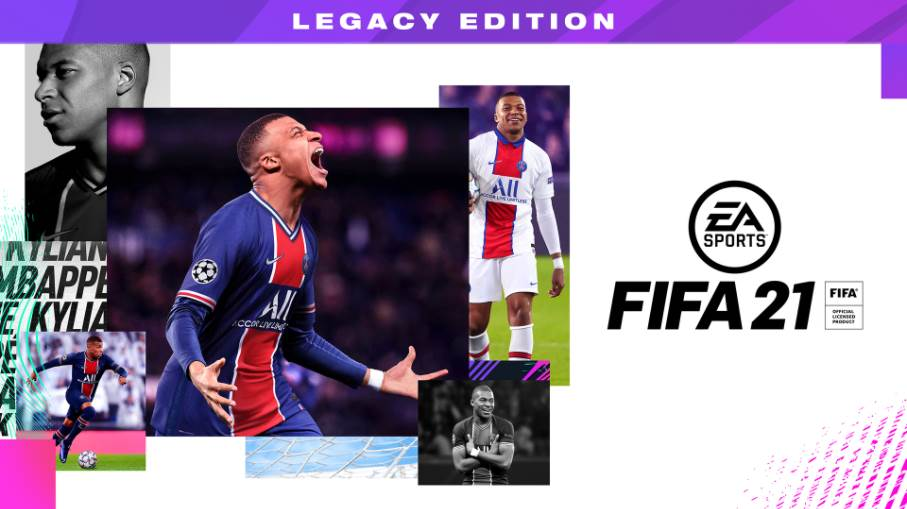 Image of FIFA 21 Nintendo Switch Legacy Edition Cover