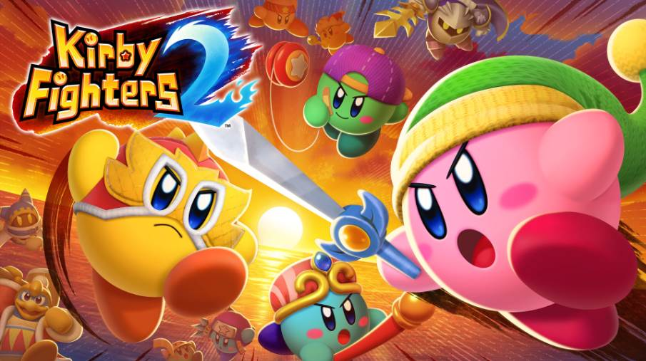 Image of Kirby Fighters 2 Cover