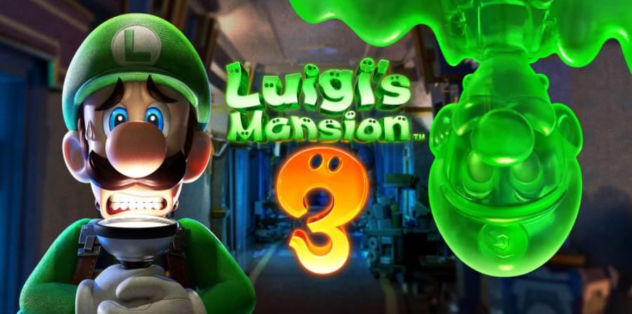 Image of Luigi's Mansion 3 Cover
