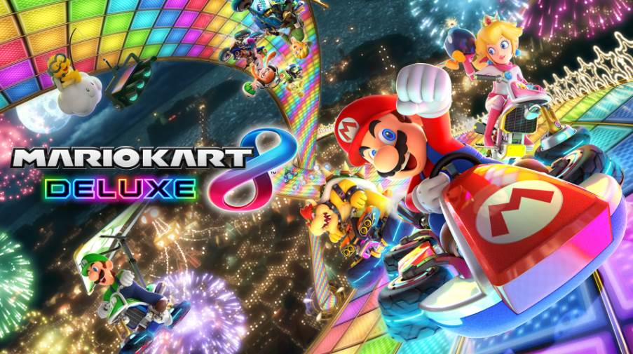 Image of Mario Kart 8 Deluxe Cover