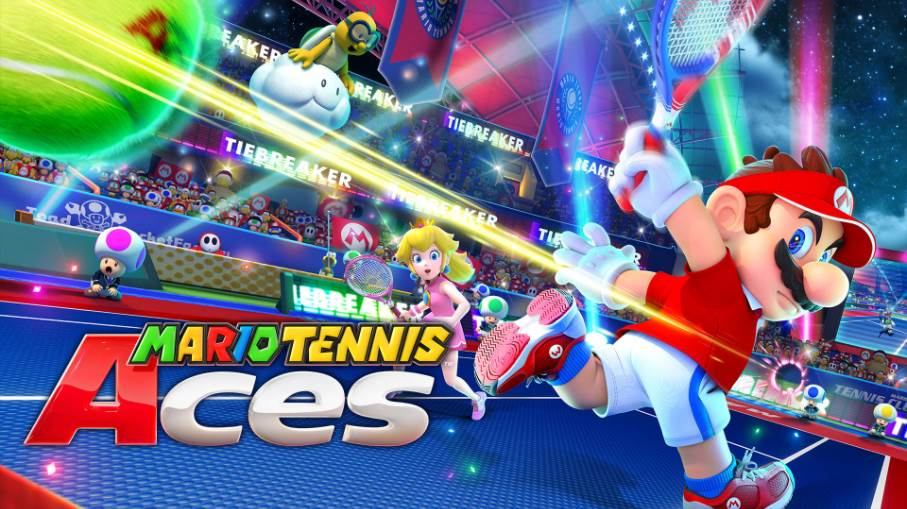 Image of Mario Tennis Aces Cover
