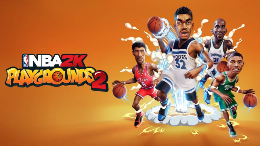 Image of NBA 2K Playgrounds 2 Cover