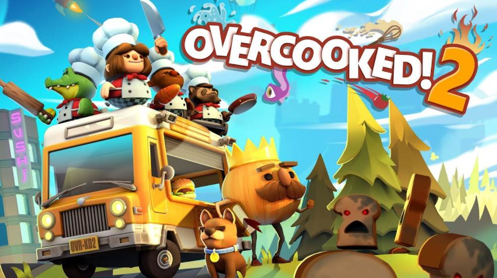 Image of Overcooked 2 Cover