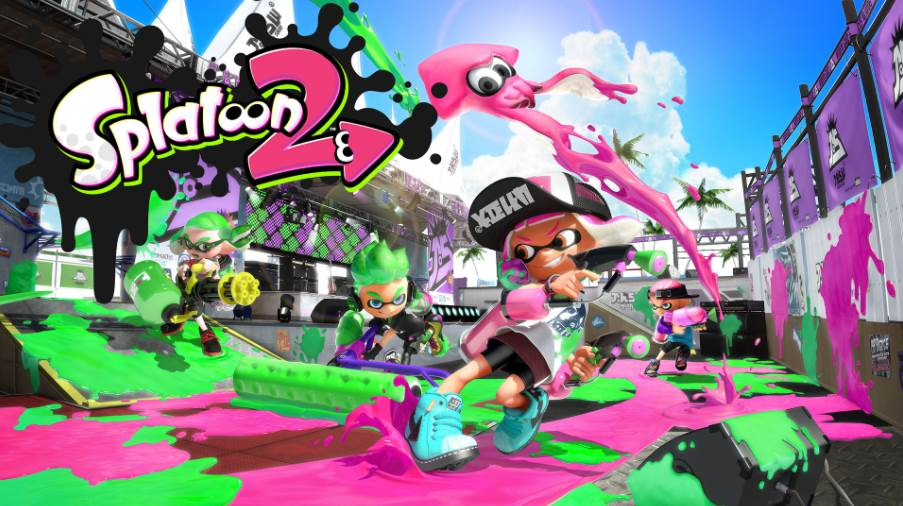 Image of Splatoon 2 Cover