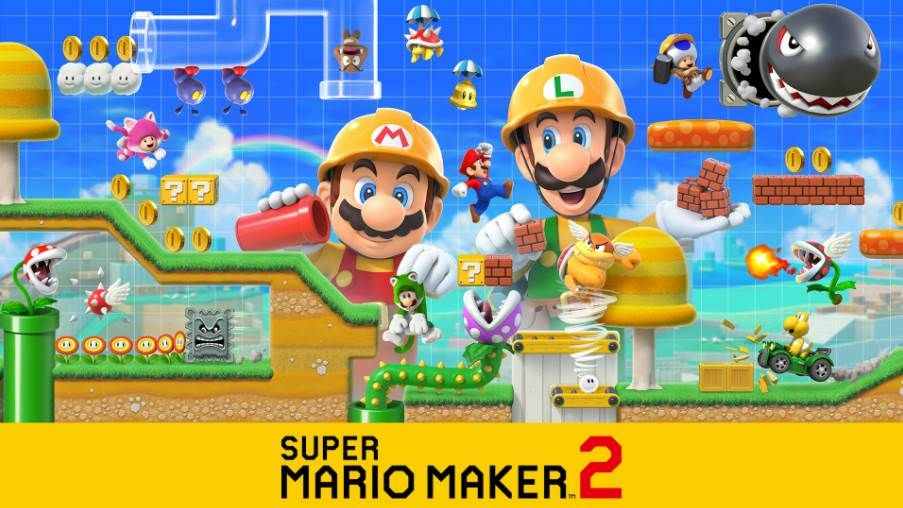 Image of Super Mario Maker 2 Cover