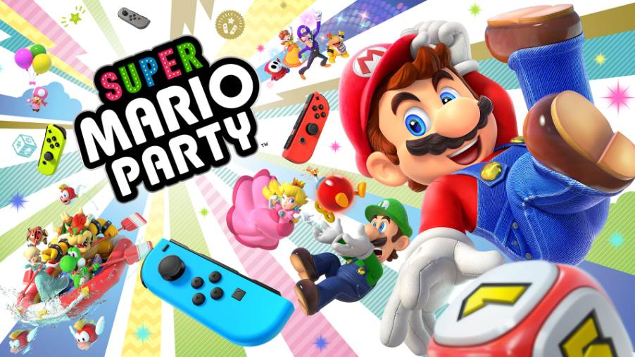 Image of Super Mario Party Cover