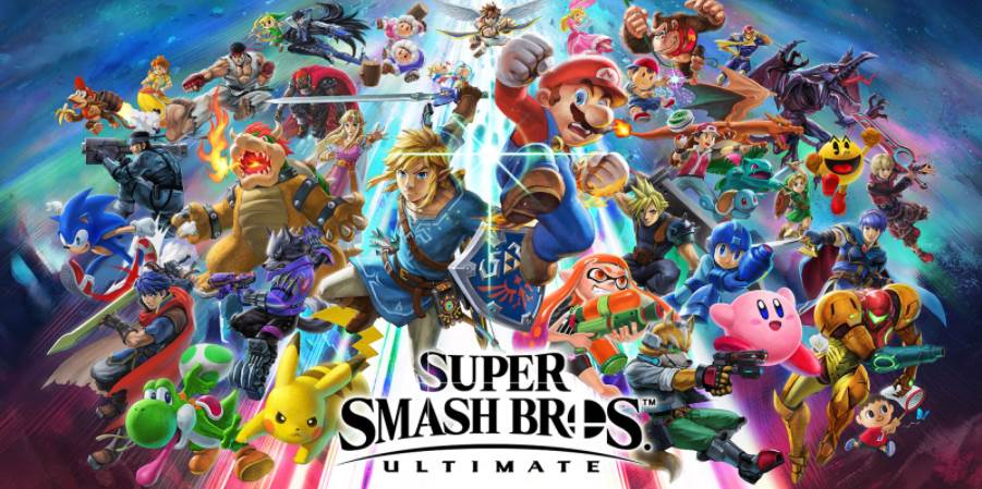 Image of Super Smash Bros Ultimate Cover