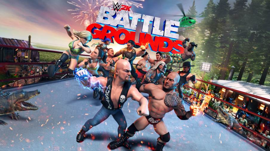 Image of WWE 2K Battlegrounds Cover