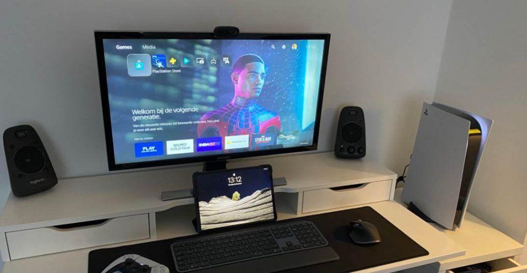 Image of a PS5 Gaming Setup