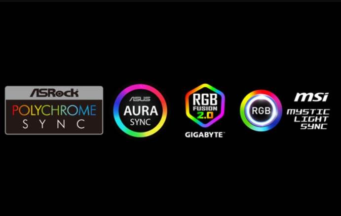Logo Images of Different Features That PC Vendors Provide