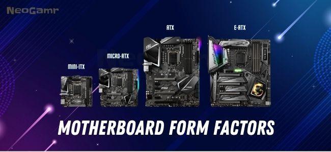 Neogamr's Image of Motherboard Form Factors ComparisonNeogamr's Image of Motherboard Form Factors Comparison
