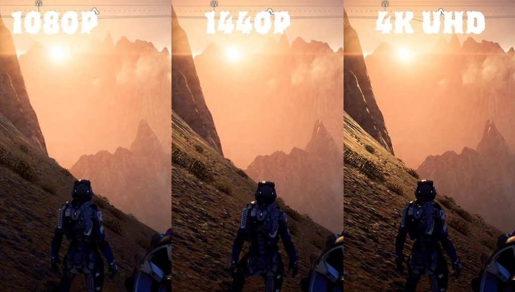 Neogamrs image of telling the difference of 2k 4k and FHD gaming