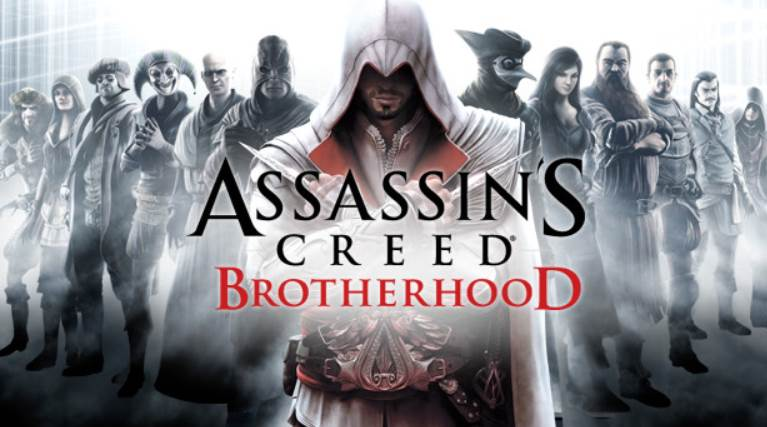 Assassin's Creed Brotherhood Game Cover
