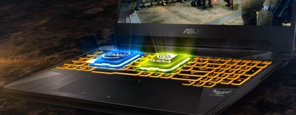CGI Image of ASUS TUF Gaming FX505