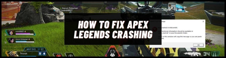 Fix Apex Legends Crashing