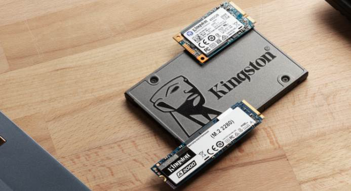 Image of Kingston SSDs