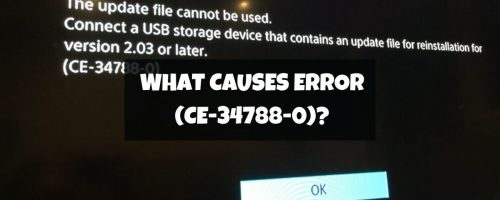"How To Fix ""PS4 Update File Cannot Be Used"" Error Code (CE-34788-0)"