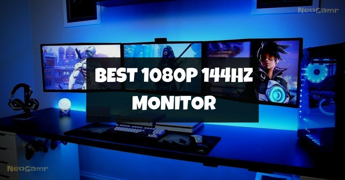 best 1080p 144hz monitor