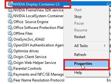 "select ""Properties"""