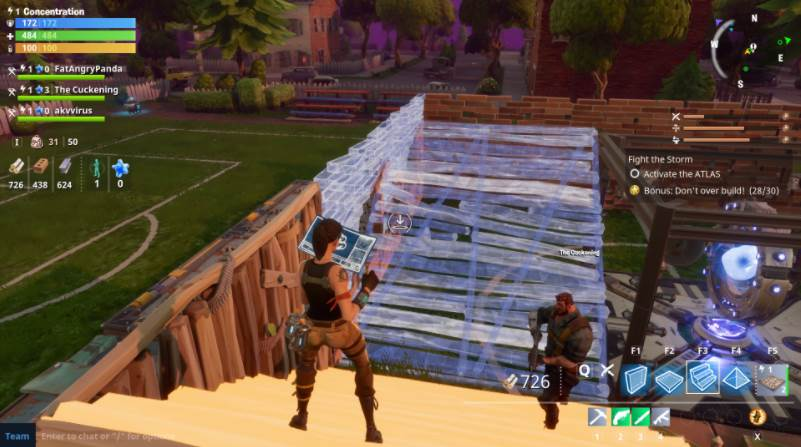 Gameplay How to build in fortnite